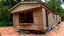 Abandoned Mobile Home Blocking Road Risking One Woman