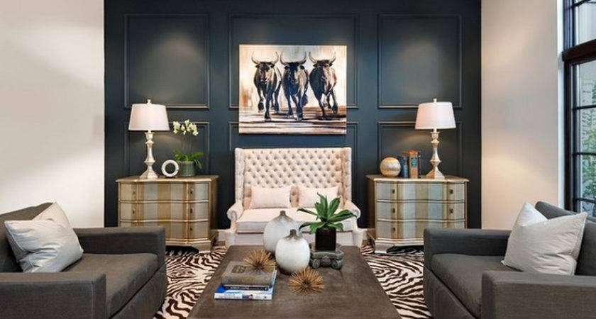 Accent Wall Ideas Small Living Room Attractive Paint