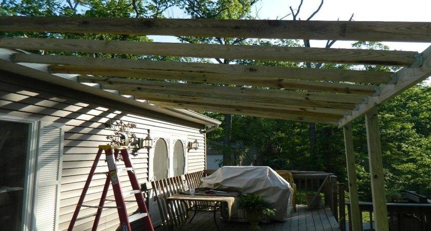 Add Metal Roof Over Deck Build