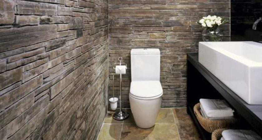 Add Rustic Texture Bathroom Design Ideas Housetohome