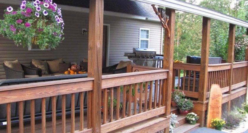 Adding Back Porch Ranch House