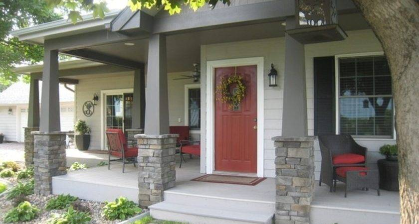 Adding Front Porch Home Bistrodre