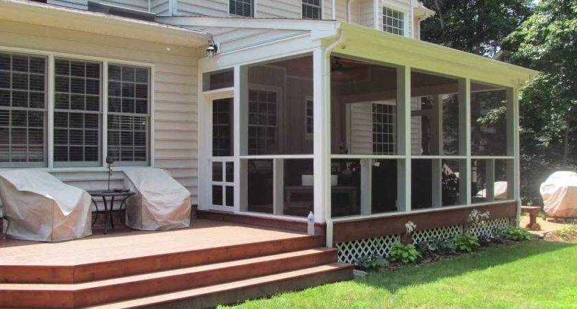 Adding Porch House Ideas Charlotte