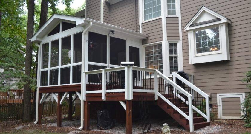 Adding Small Screened Porch