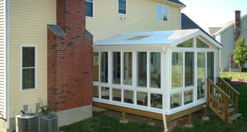 Adding Value Your Home Sunroom Addition