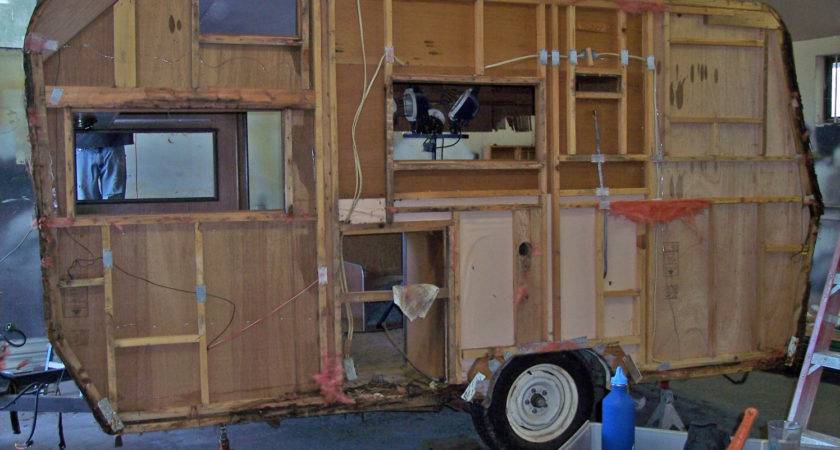 Adventures Vintage Travel Trailer Remodel