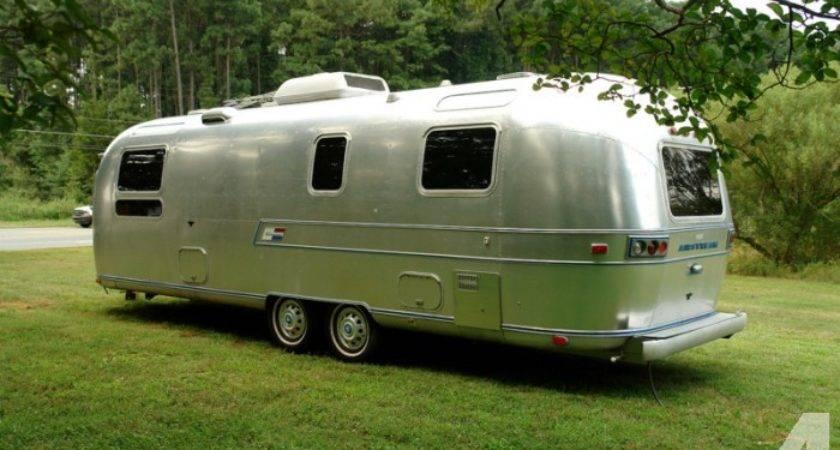 Airstream Ambassador Travel Trailer