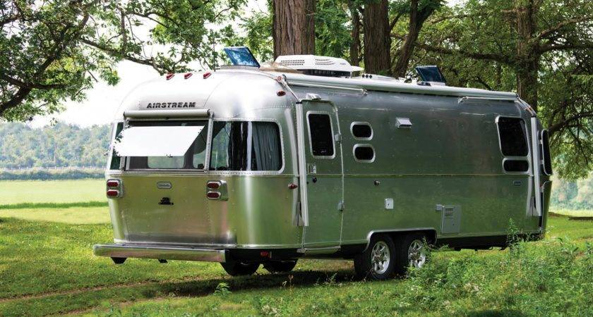 Airstream Unveils New Off Grid Ready Globetrotter Trailer