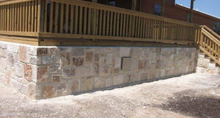 Alamo Transport Decks Skirting Concrete Covered