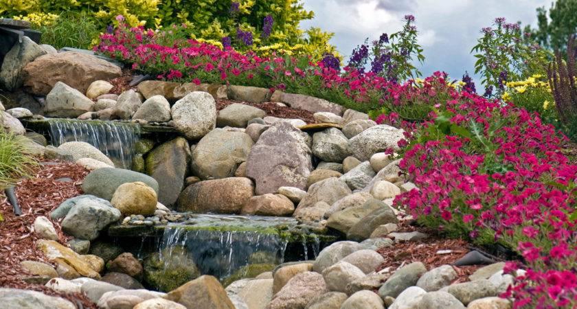 All Using Landscape Stones Rocks Asphalt Materials