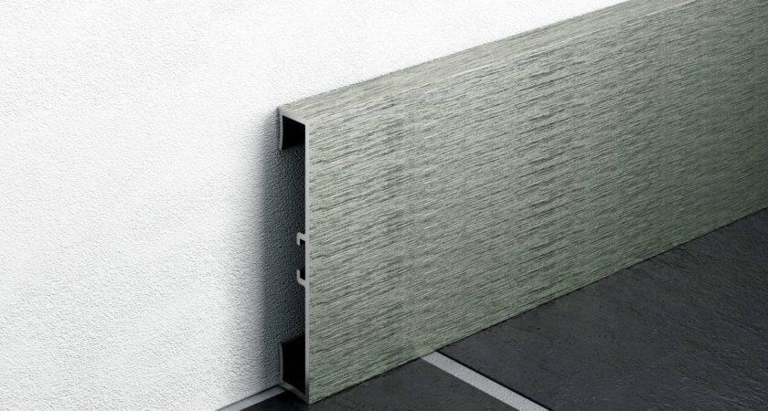 Aluminium Skirting Board Metal Line Profilpas