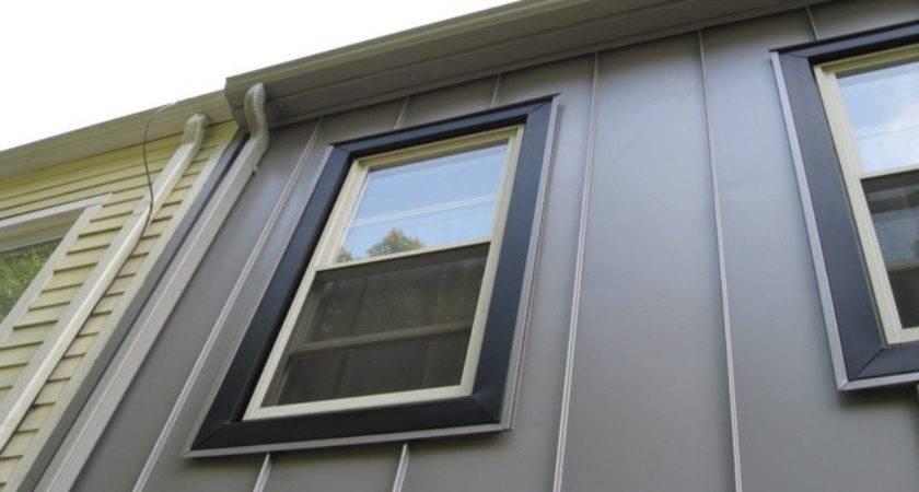 Aluminum Siding Vertical Panels