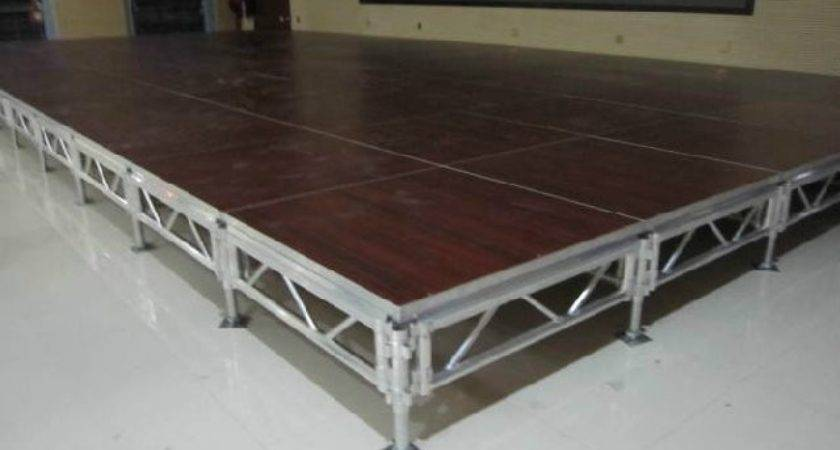 Aluminum Smart Stage Portable Platform
