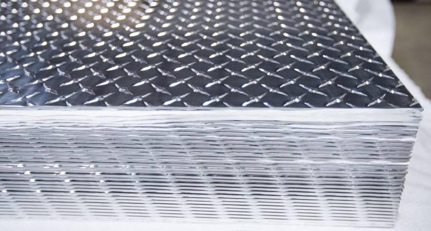 Aluminum Trailer Flooring Plastic Diamond Plate Wall