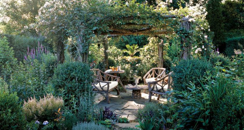 Amazing Country Backyard Landscaping Ideas Rustic