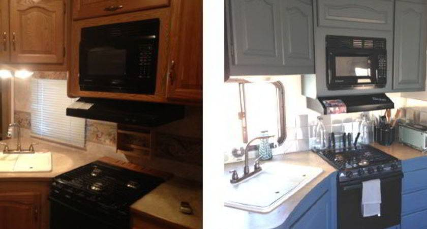 Amazing Fifth Wheel Remodel Shoestring Budget