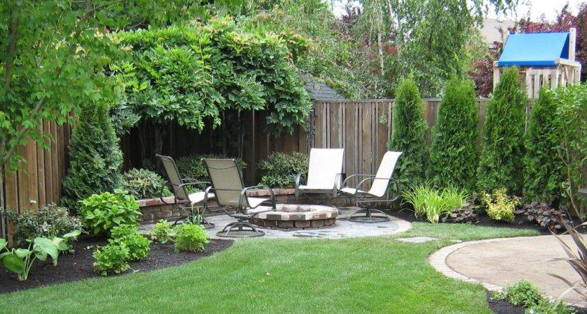 Amazing Ideas Small Backyard Landscaping Great
