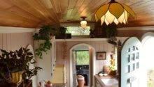 Amazing Tiny School Bus Cottage Home Design Garden