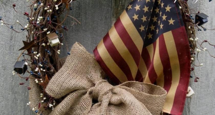 Americana Wreath Patriotic Fourth