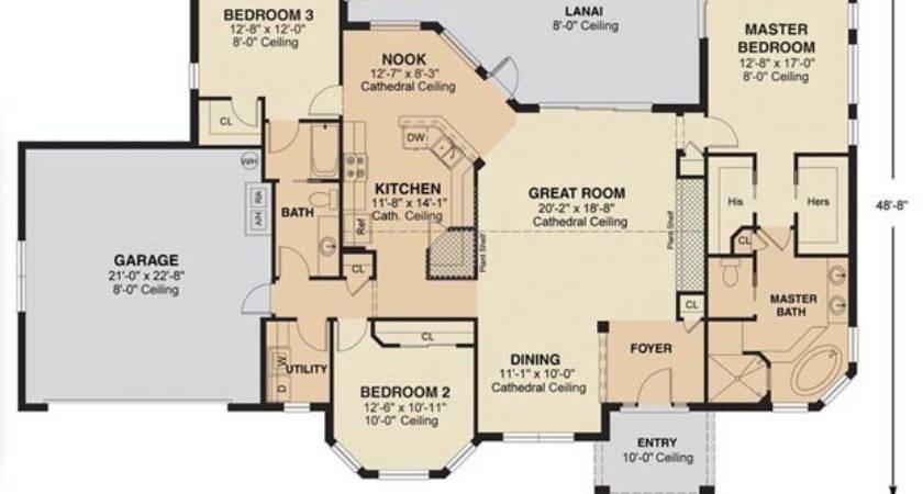 Antigua Signature Floor Plan Nadeau Stout Custom Homes