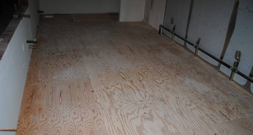 Apply Decorative Finish Plywood Sub Floors