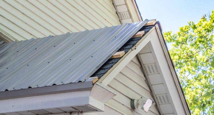 Applying Metal Roofing Over Shingles