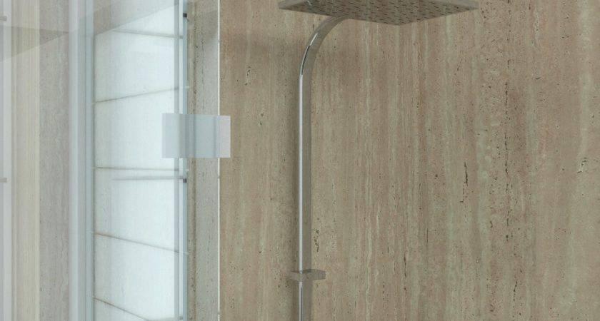 Aquabord Shower Wall Panels Classic Marble