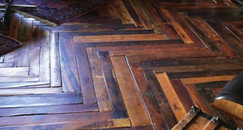 Arctic Plank Makes Unique Upcycled Floor
