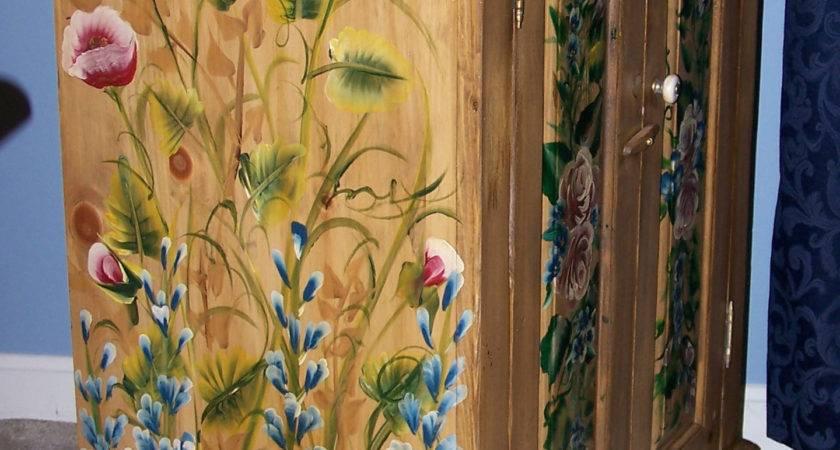 Astounding Hand Painted Furniture Beautiful