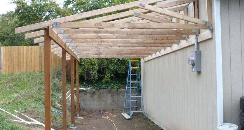 Attach Roof Over Deck House Best Lean Ideas