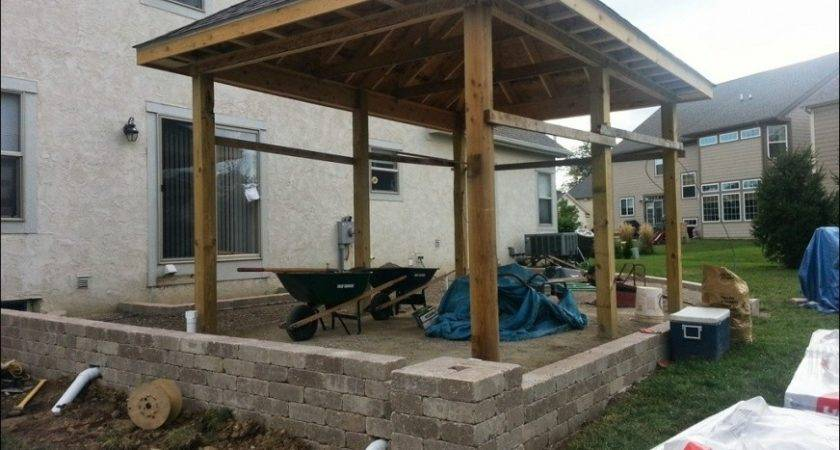 Attaching Patio Cover Existing Roof