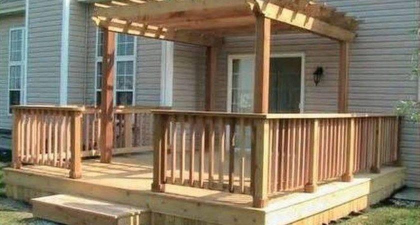 Attractive Wood Deck Flooring Ideas Wooden Outdoor