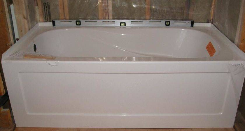 Average Bathtub Basement Standard