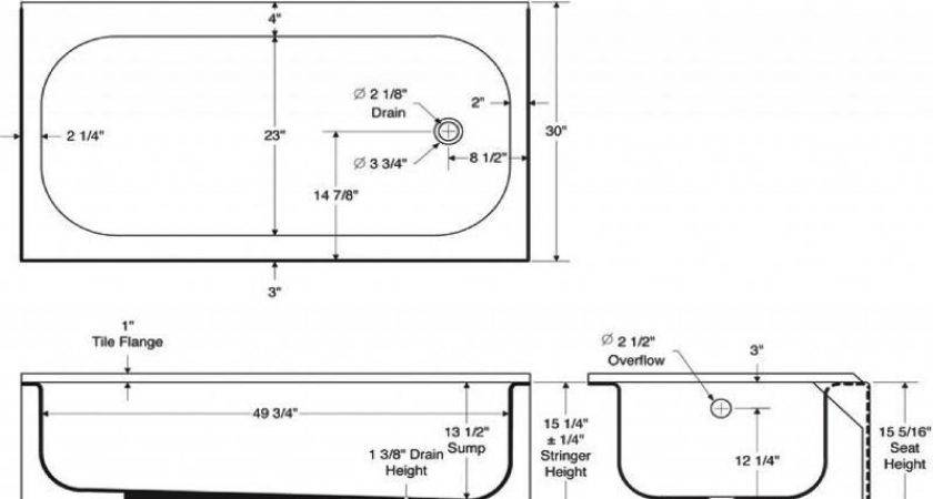 Average Bathtub Gallons Small Corner