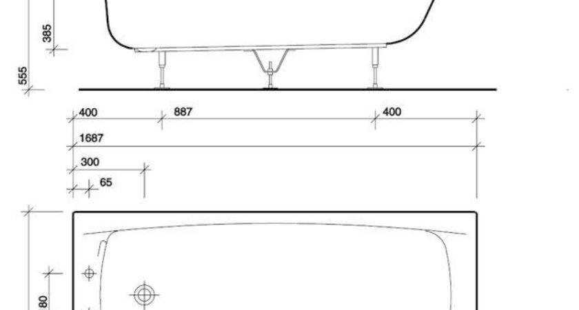 Average Bathtub Home Design