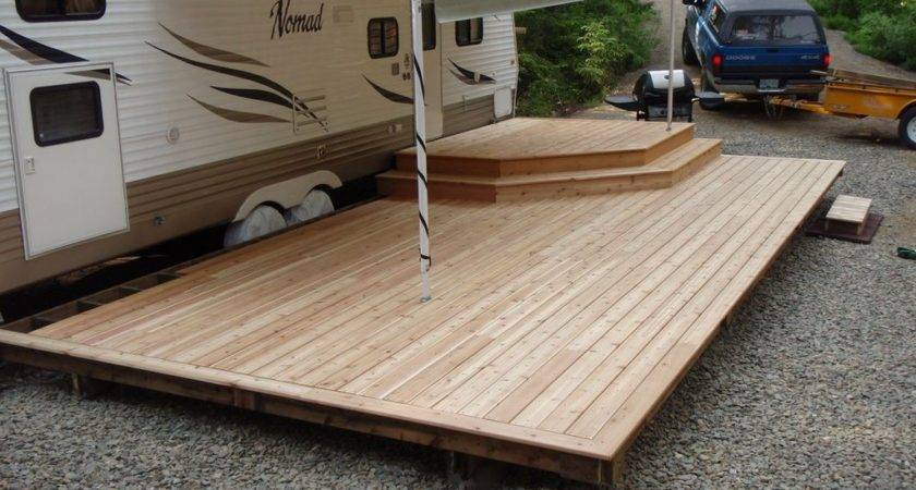 Awesome Camper Deck Ideas Travels Plan
