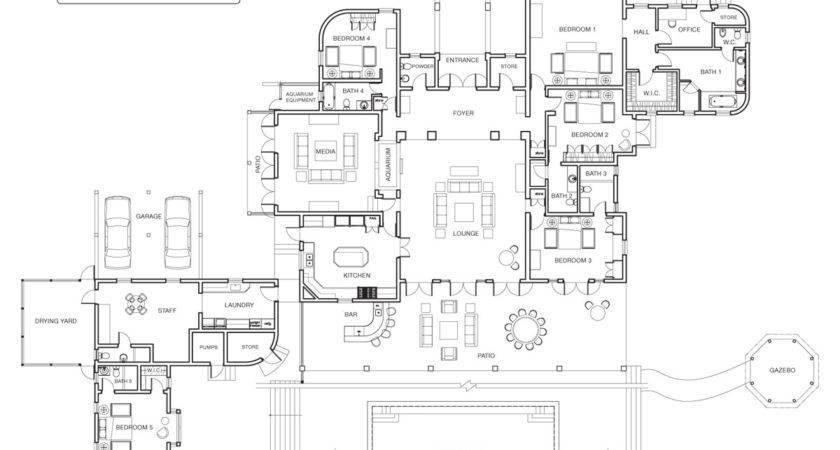 Awesome Luxury Mansions Floor Plans Home Design