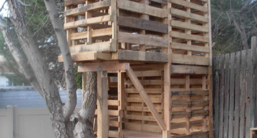 Awesome Pallet Treehouse Palletprojects