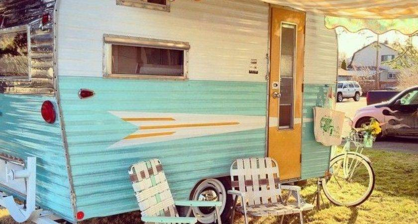 Awesome Vintage Camper Exterior Ideas Travels Plan