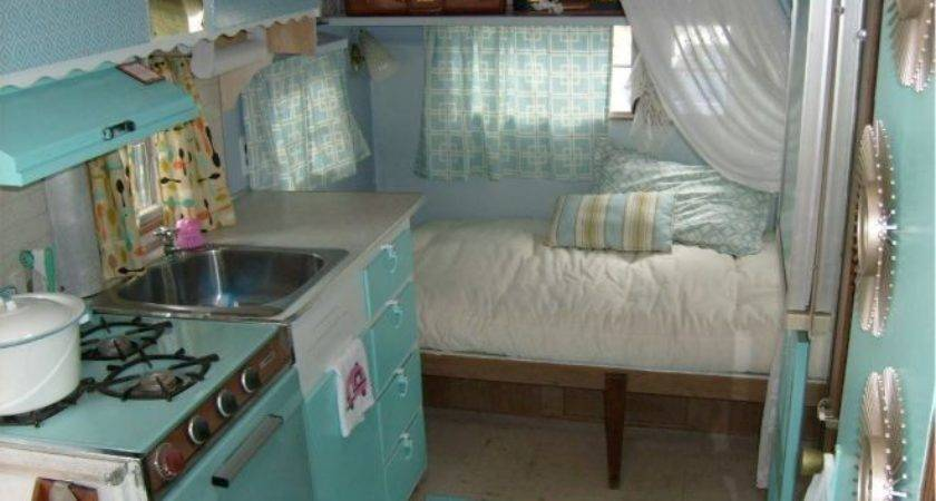 Awesome Vintage Campers Interior Decorisme