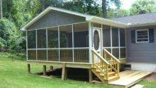 Back Porch Designs Mobile Homes