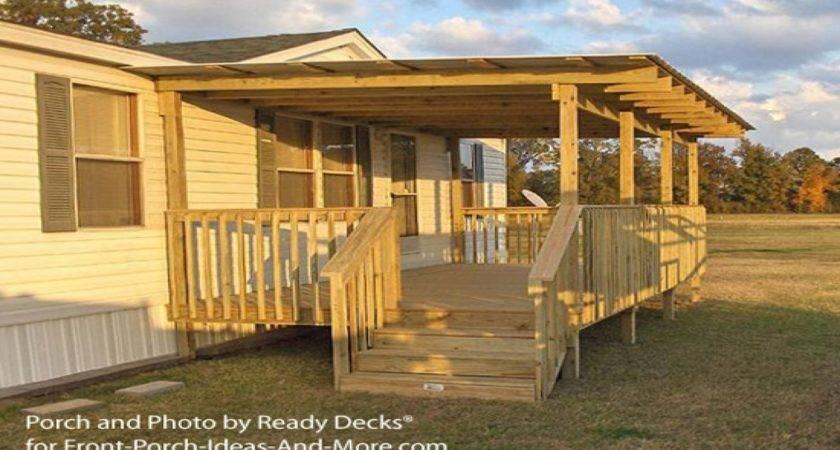 Back Porch Patio Ideas Mobile Home Plans Diy