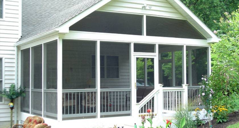 Baltimore Screen Porches Anne Arundel County Maryland