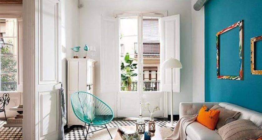 Barcelona Style Retro Modern Interior Design Project