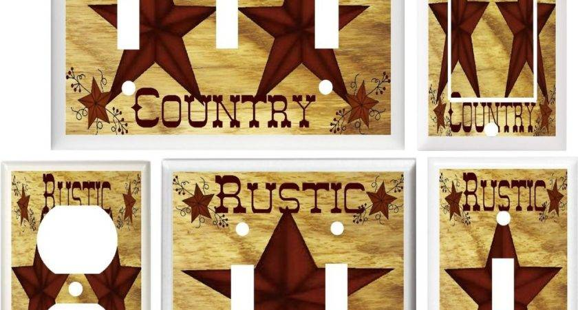 Barn Star Country Home Decor Light Switch Outlet Cover