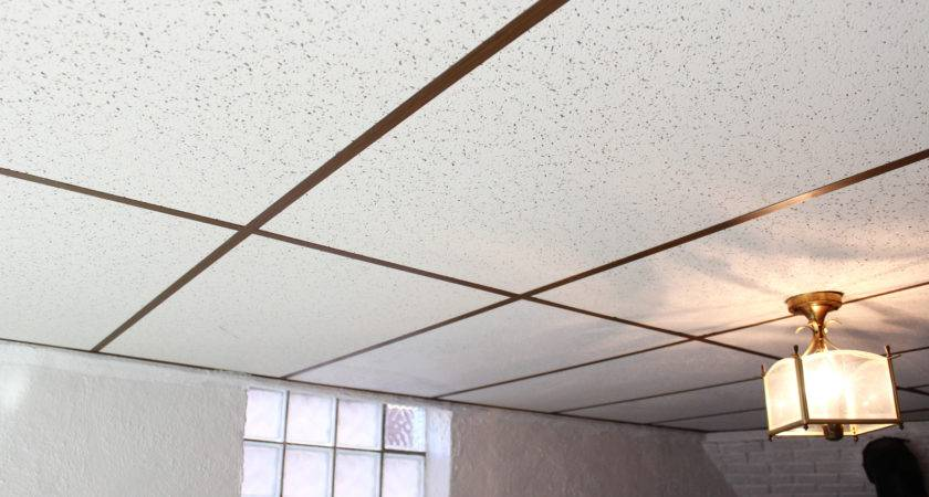 Basement Drop Ceiling Makeover Home Depot