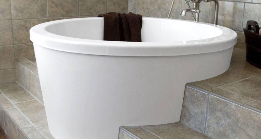 Bathroom Beautiful Small Deep Bathtub
