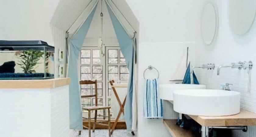 Bathroom Designs Nautical Beach Decor Interior