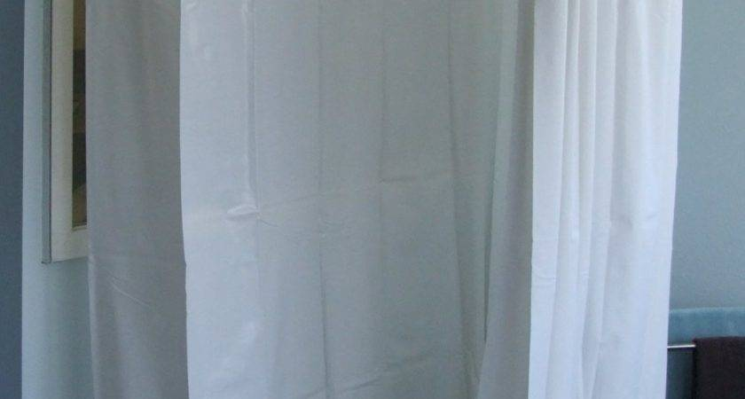 Bathroom Enchanting Extra Wide Shower Curtain