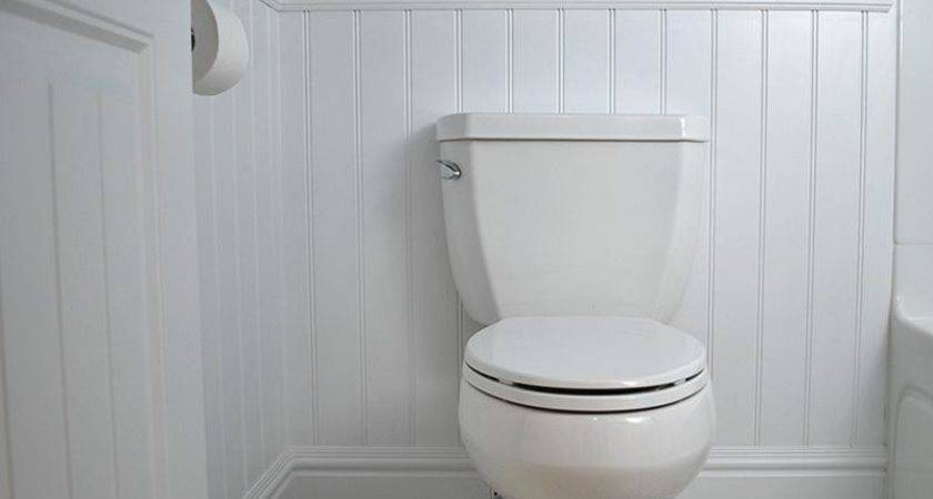 Bathroom Install Wainscoting Faux